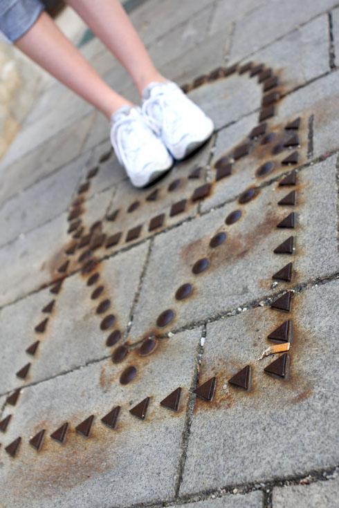 Bratislava - Street marking