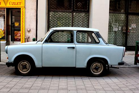 Budapest - Harry Potter Car