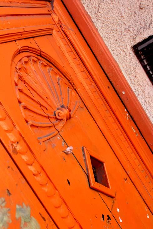 Budapest - Orange Door